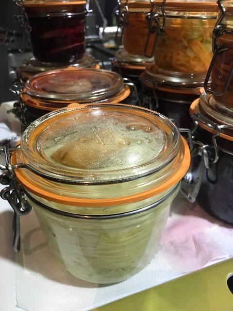 Bien tasser les légumes ! Lactofermentation - légumes lactofermentés